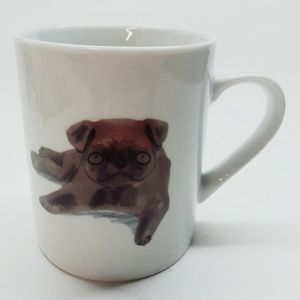 "MAGPIE ""Pug"" DOG Jo Clark Design Coffee Mug"